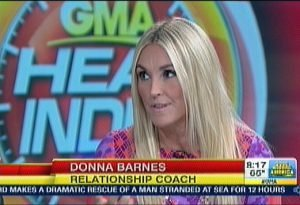 Donna Barnes on GMA 4